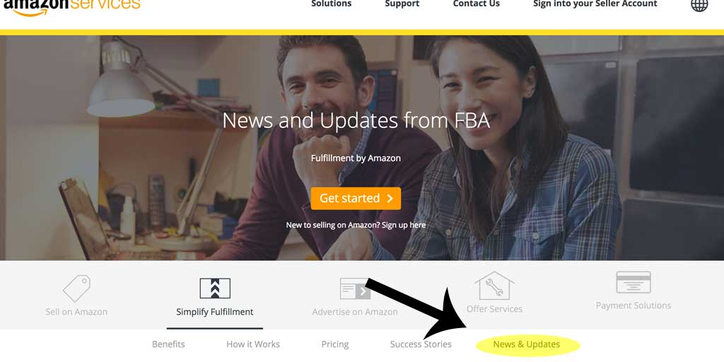 If you are utilizing Amazon FBA, regularly check out their news and updates section for new policy changes, fee adjustments and more.