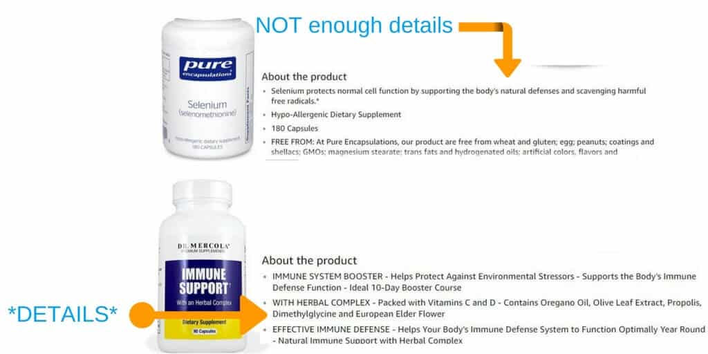 What is Amazon Sales Rank - Dr. Mercola and Pure Encapsulations are both highly recognized in the integrative medicine field.