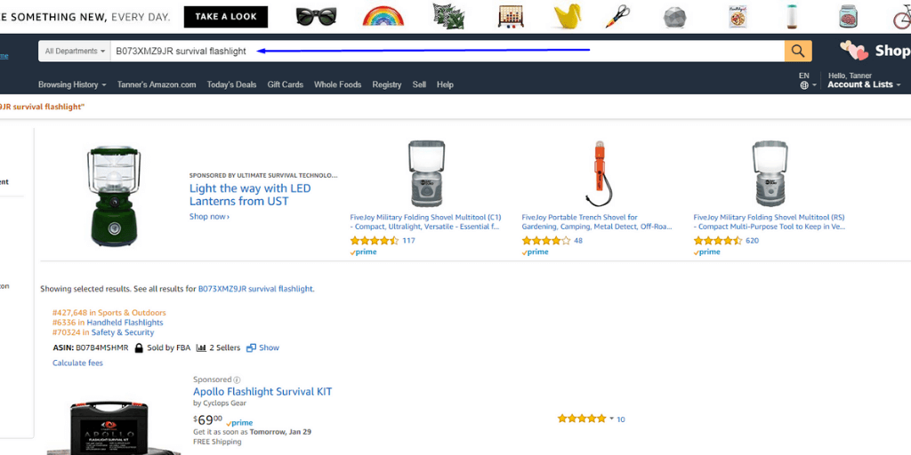Search For Indexing - Amazon SEO Everything You Need To Know - The Source Approach - Amazon Consultant and eCommerce Consultant