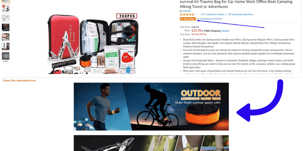 Enhanced Branded Content and Detail Page - How To Reduce ACoS On Amazon - The Source Approach - Amazon Consultant and eCommerce Consultant
