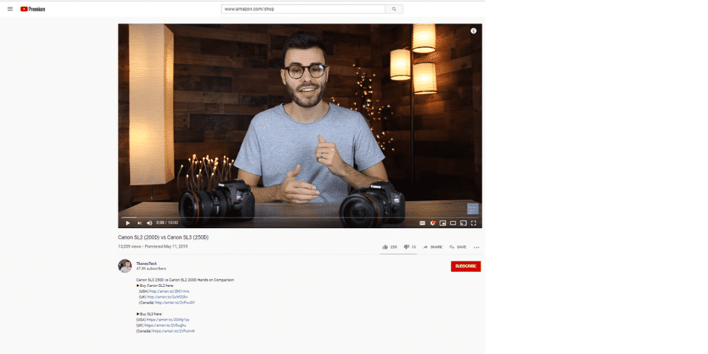 Example Amazon Affiliate YouTube - Whats The Difference Between Amazon Influencers and Amazon Affiliates - Amazon Influencers Everything Brands Need To Know - The Source Approach