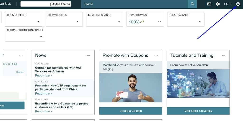 Step 1 - Initiate A Seller Support Ticket - How To Deal With Amazon Seller Support - The Source Approach - Amazon Consultant and eCommerce Consultant